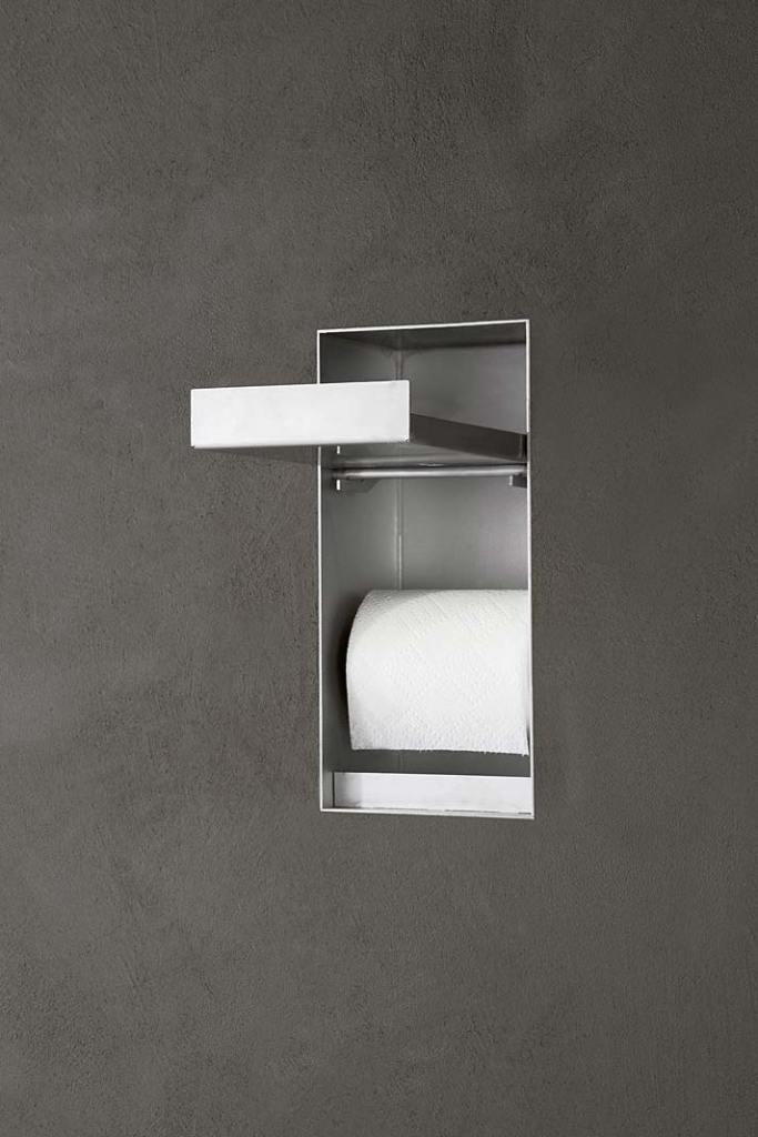 Akcesoria łazienkowe Antonio Lupi Sesamo, podajnik na papier toaletowy