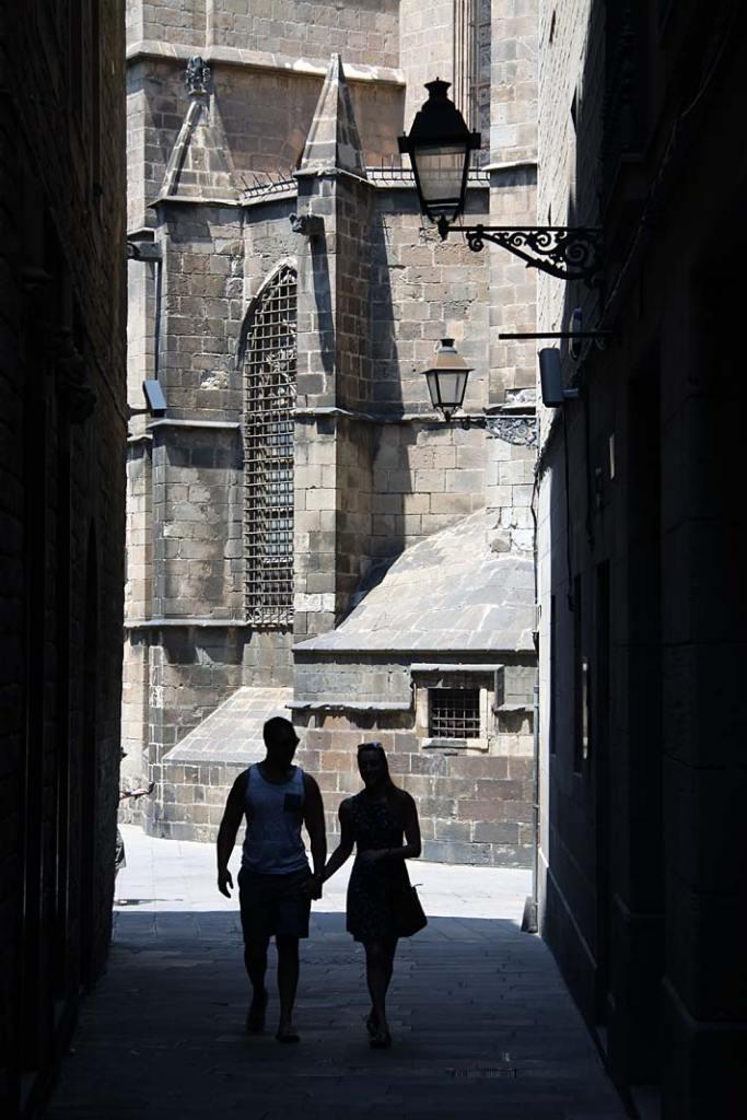Atrakcje turystyczne Barcelony. Spacer uliczkami Barri Gotic