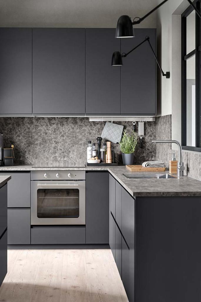 Blat kuchenny z płyty laminowanej IKEA Ekbacken