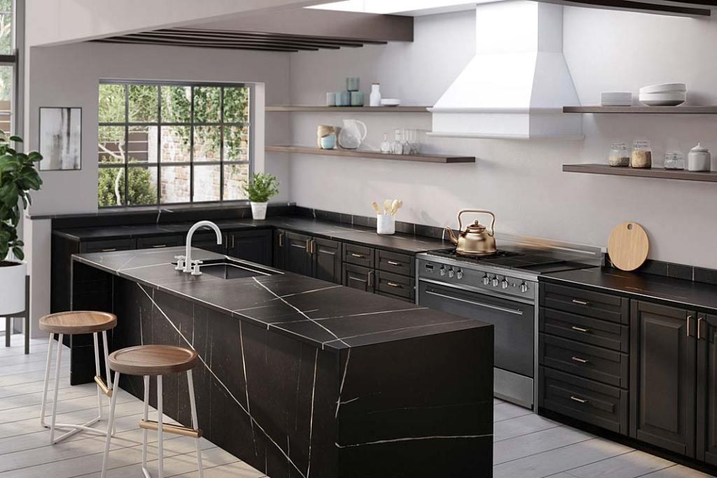 Blaty kuchenne z konglomeratu kwarcowego Silestone Eternal marki Cosentino