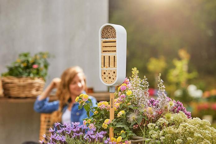 Dekoracje do ogrodu, hotel dla owadów ClickUp! GARDENA