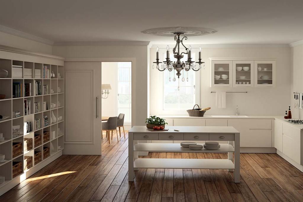 Drzwi do wnętrz w stylu rustykalnym, model Georgia 1 z kolekcji ClassicLine marki Hormann
