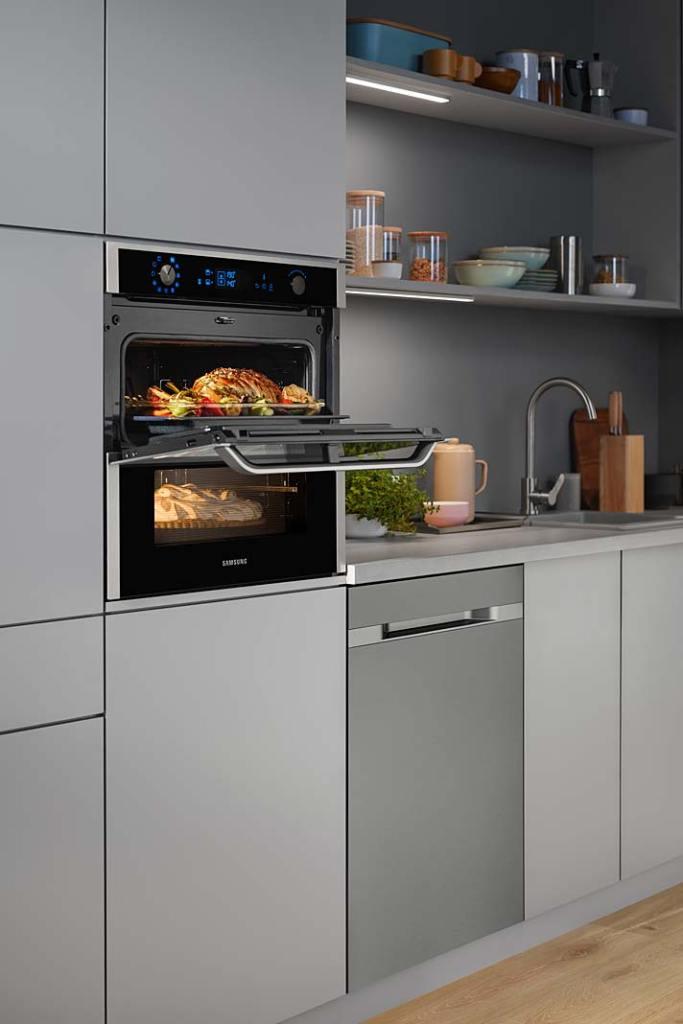 Dwukomorowy piekarnik Dual Cook Flex™ Samsung