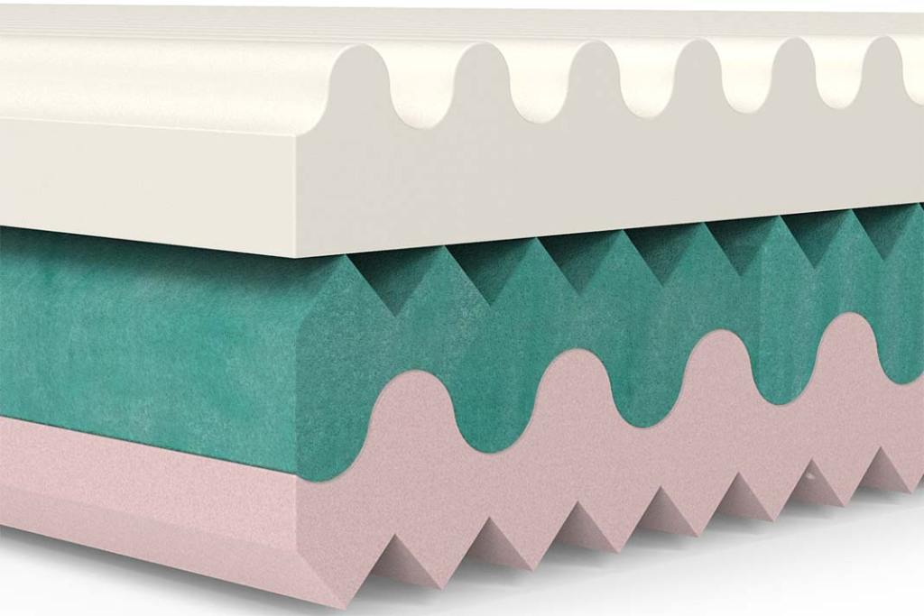 Dwustronny materac elastyczny De Lux 20 Art-Medic