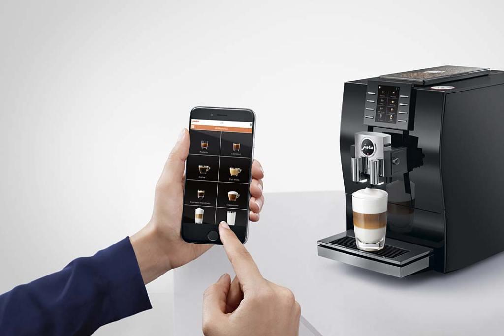 Inteligentny ekspres do kawy Jura Z6 Diamond Black