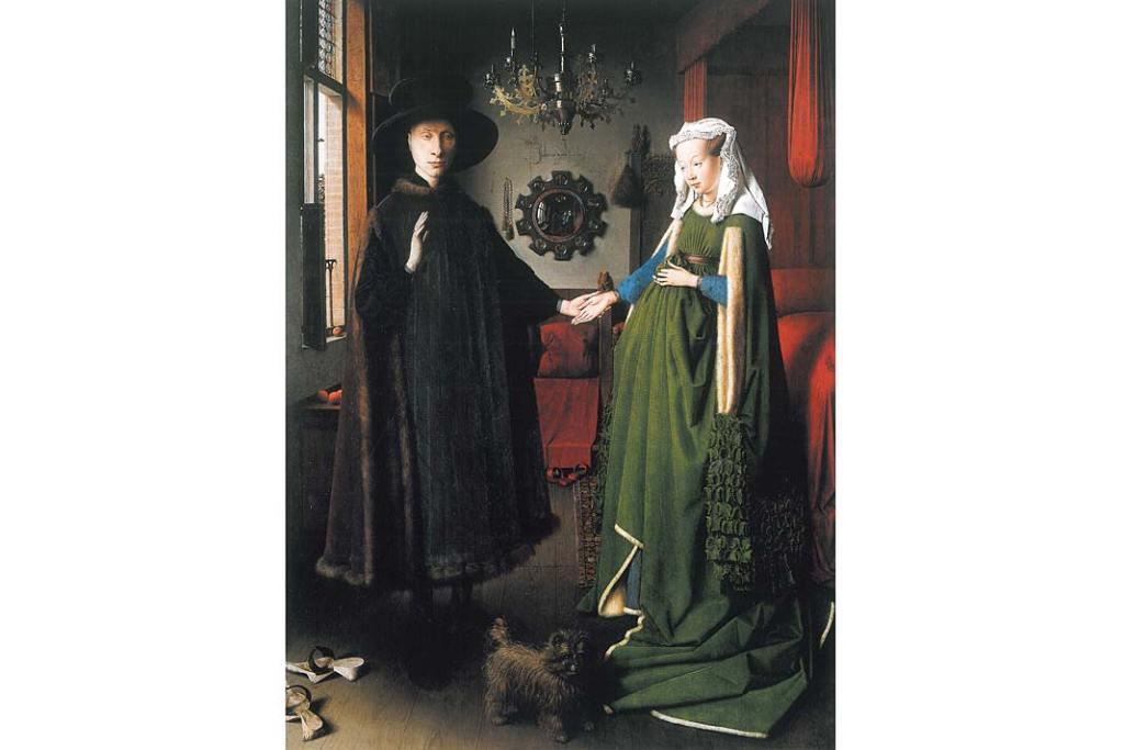 Jan van Eyck, Portret Arnolfinich. Galeria Narodowa w Londynie - zbiory