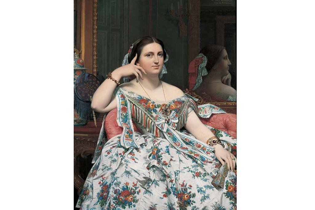 Jean-Auguste-Dominique Ingres, Pani Molitessier