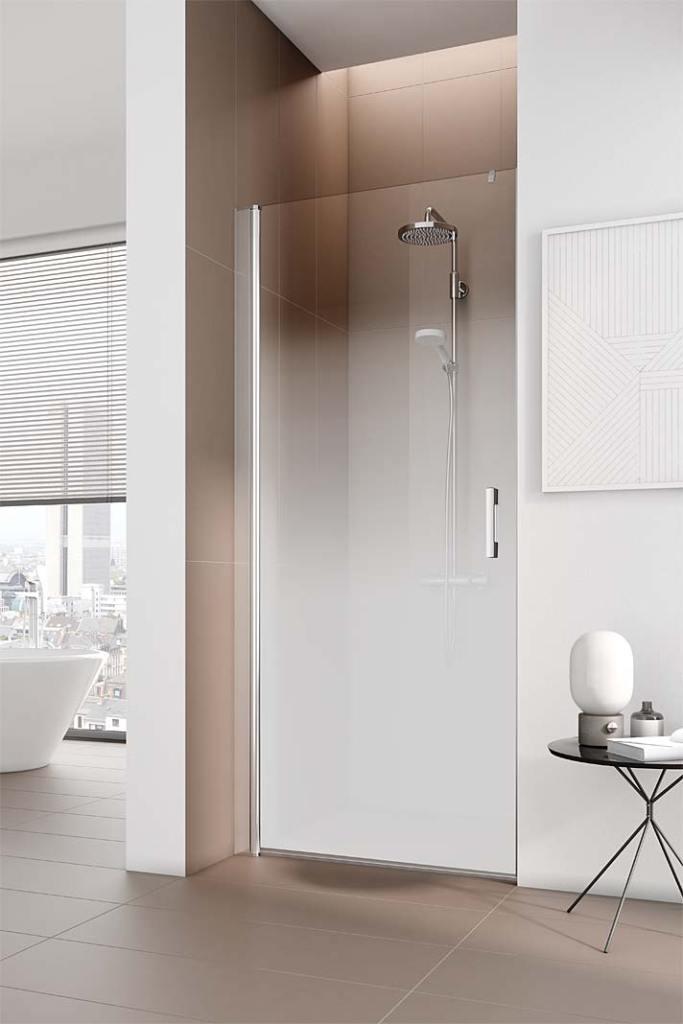 Kabiny prysznicowe na wymiar, oferta specjalna KermiExtra z efektem ombre