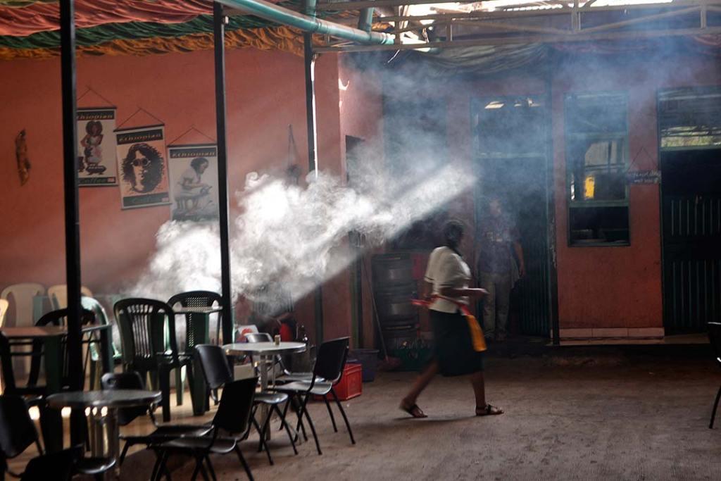 Kawiarnia w Awassie serwująca wykwintne gatunki i rodzaje kaw