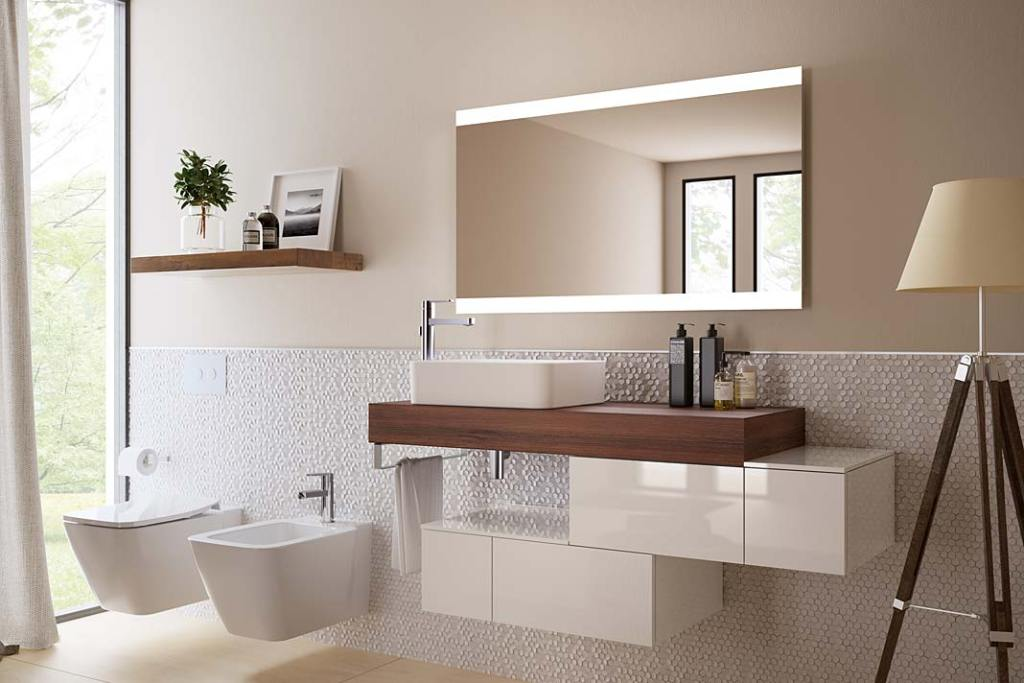 Meble łazienkowe z kolekcji Adapto od Ideal Standard