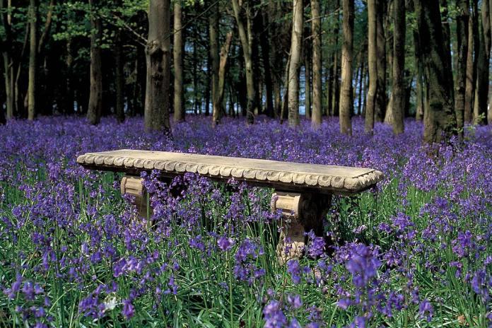 Ławka ogrodowa Redwood Stone