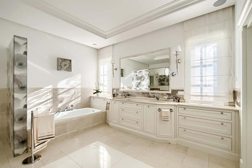 Mable łazienkowe na wymiar wykonane przez firmę Akan