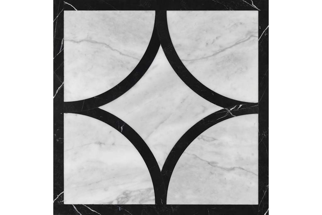 Marmur w kuchni. Marmurowe płytki podłogowe Devon Prestige