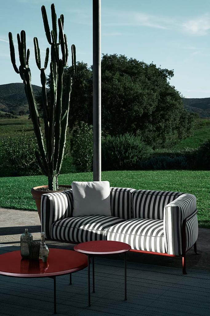 Meble do ogrodu, kolekcja Borea marki B&B Italia