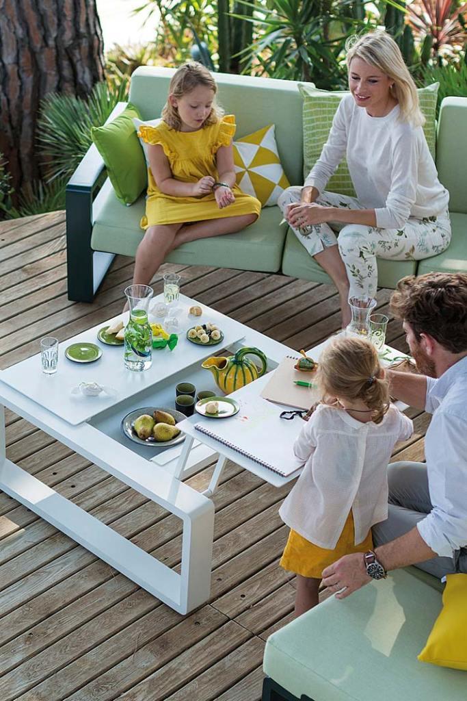 Modułowe meble do ogrodu Kama od EGO Paris