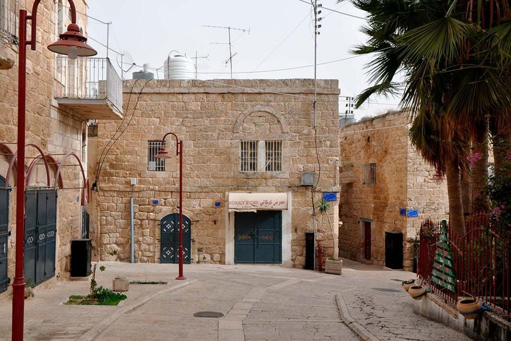 Odrestaurowane Stare Miasto w Bajt Sahur nieopodal Betlejem