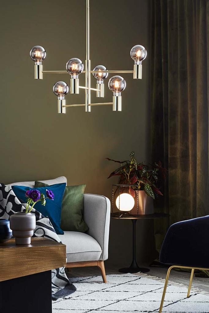 Oświetlenie do salonu - żyrandol Capital marki Markslojd
