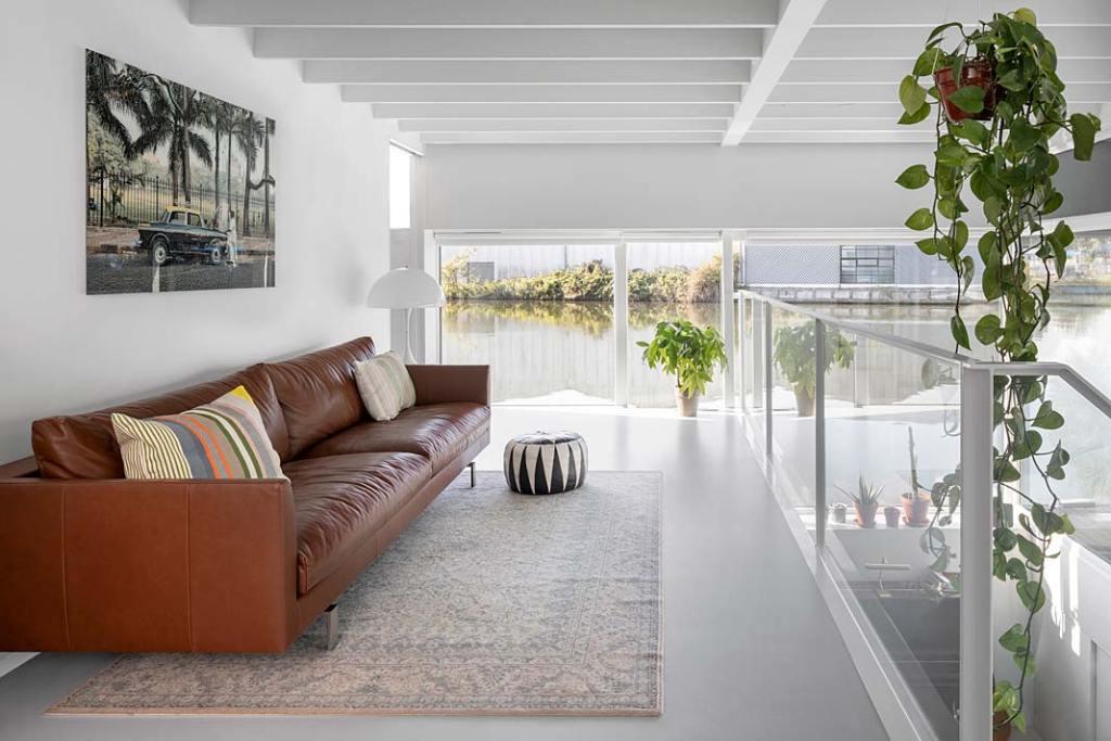Wnętrze domu w Amsterdamie - wnętrze. Projekt i29 interior architects