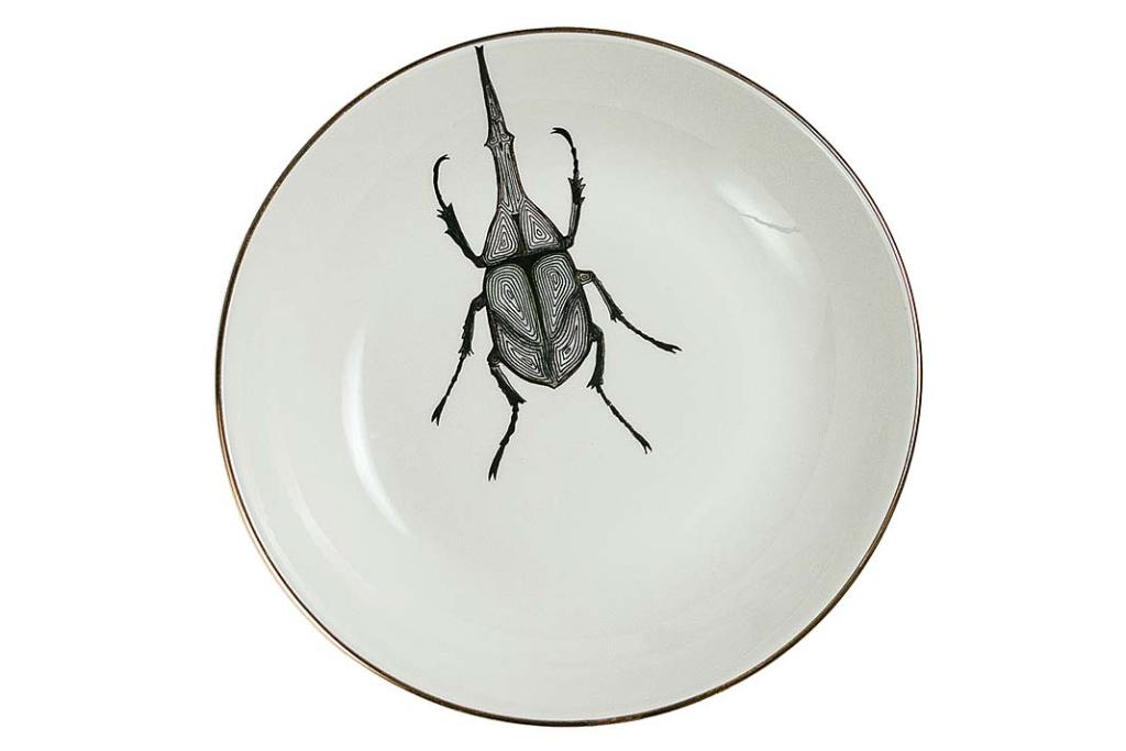 Porcelanowy talerz Micuit od Micucci Interiors