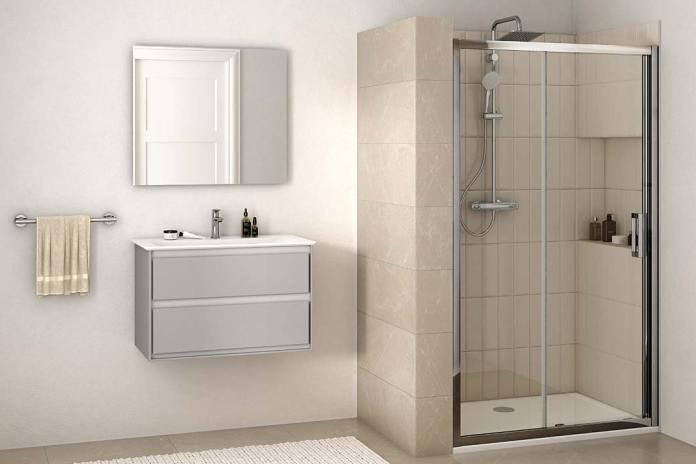 Prysznic we wnęce, drzwi Connect2 Ideal Standard