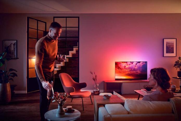 Przytulny dom, nastrojowe oświetlenie Philips Hue