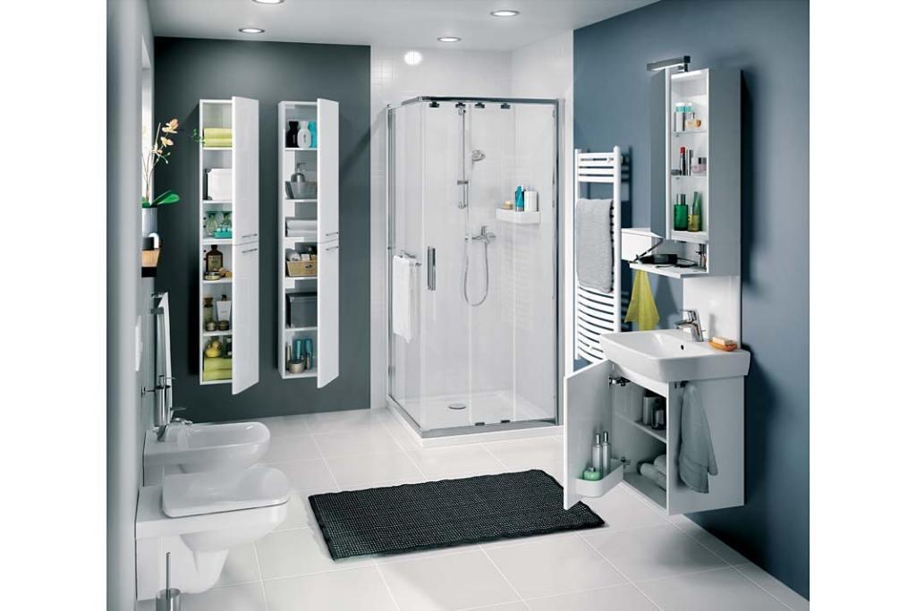 Remont łazienki tanim kosztem. Kolumna umywalkowa Koło Nova Pro