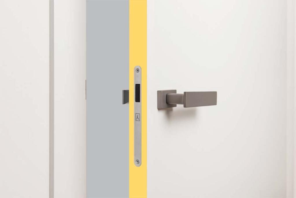 Rimo - obrzeże drzwi marki Vox w kolorze jasnożółtym