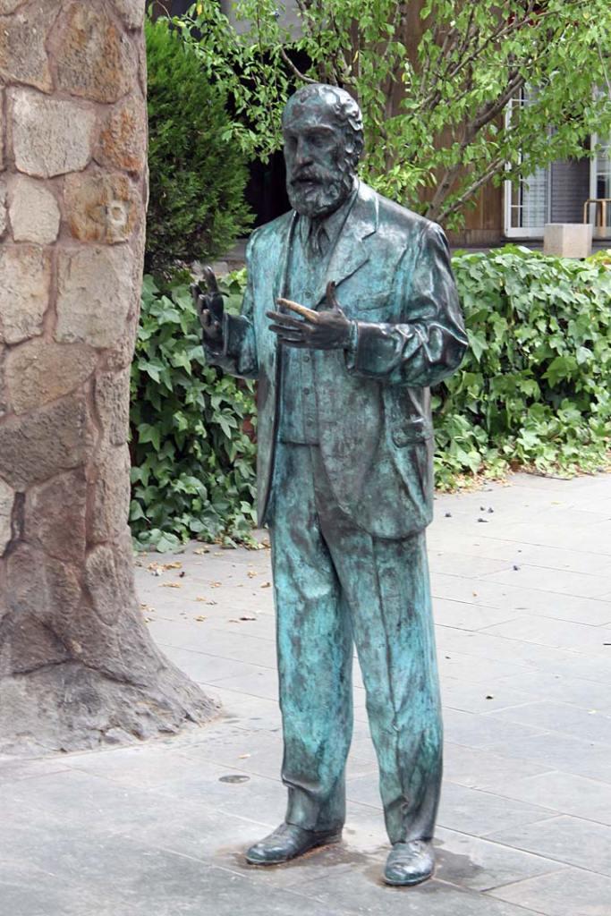 Rzeźba Antonio Gaudiego