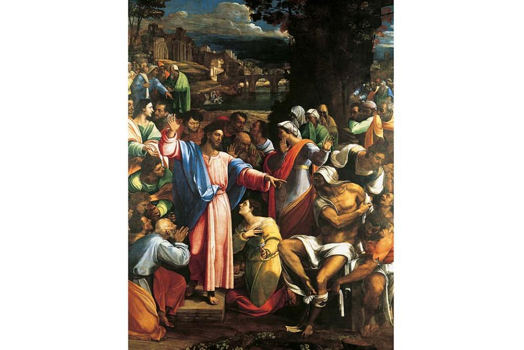 Sebastiano del Piombo, Wskrzeszenie Łazarza. Galeria Narodowa w Londynie - zbiory