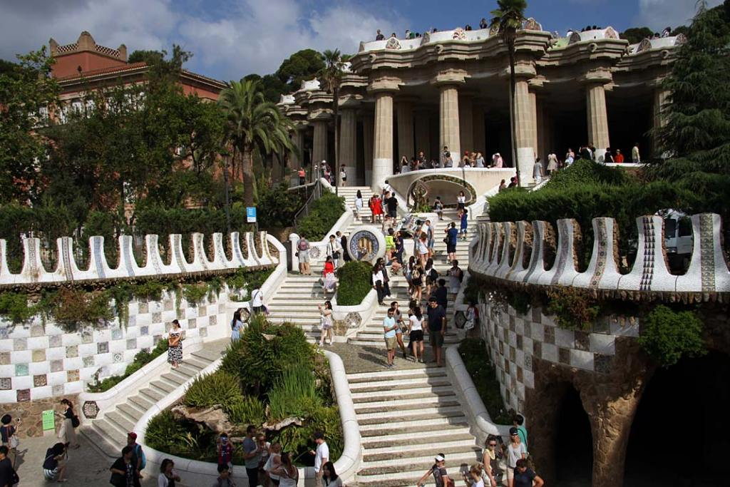 Spacer po Parku Guell