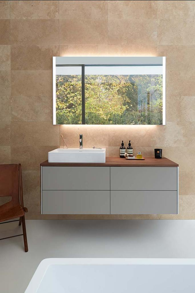 Meble łazienkowe, szafka podumywalkowa XSquare marki Duravit