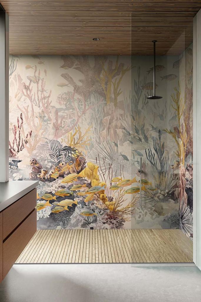 Tapeta Reef ACG-35 z motywem rafy koralowej od Wallpaper