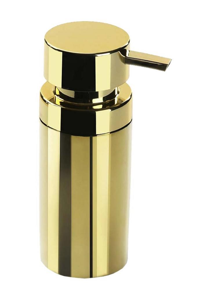 Złote dodatki do łazienki, dozownik marki Versa z oferty Bonami