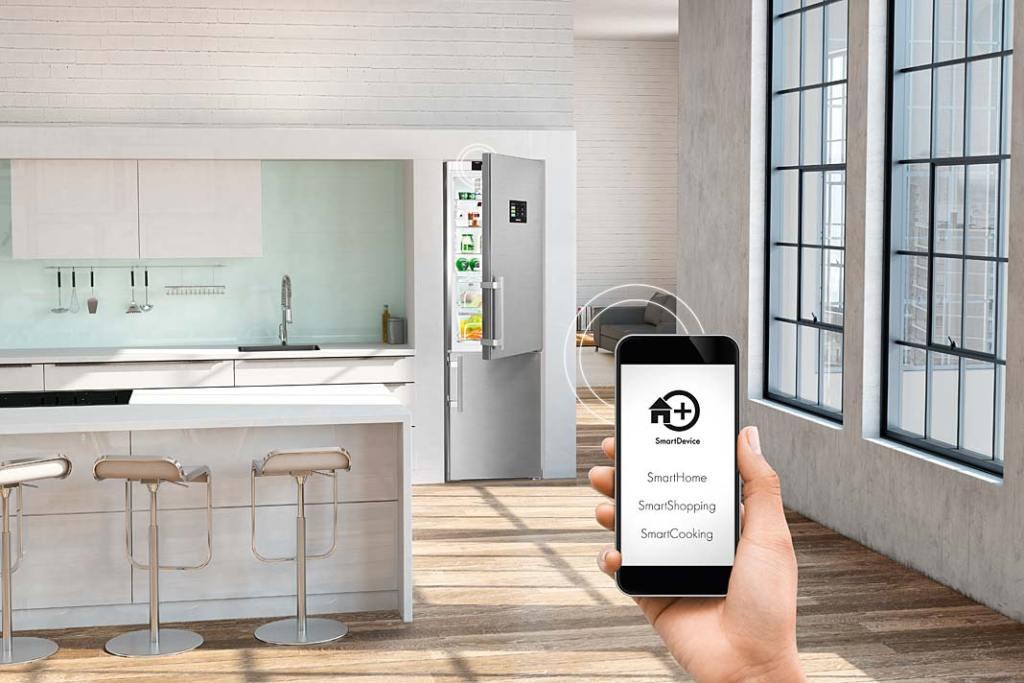 Aplikacja Liebherr SmartDevice pozwala sterować lodówką na odległość, za pomocą smartfona