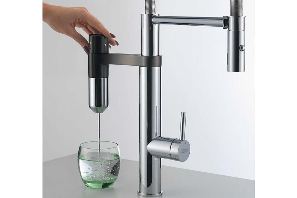 Filtry do wody. Bateria kuchenna Franke Vital z filtrem kapsułkowym