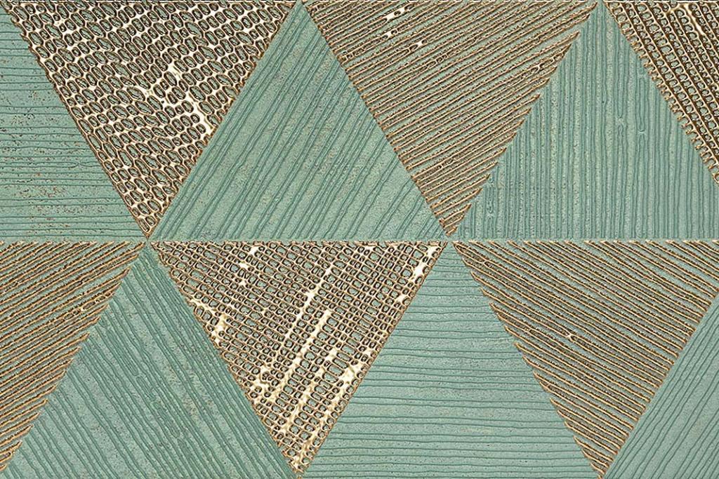 Dekor z kolekcji Greengold Tubądzin