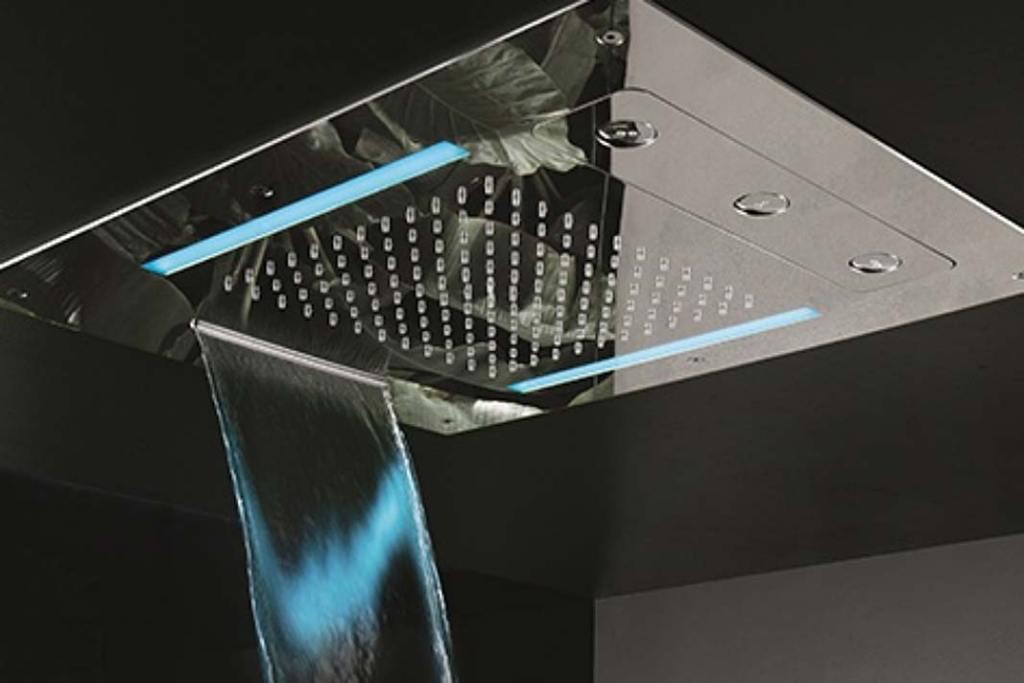Deszczownica Aquatec C-spin z kaskadą i oświetleniem LED