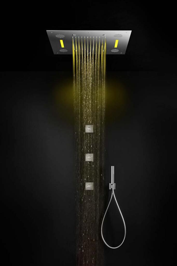 Deszczownica Aquatec Sound&Colour z oświetleniem LED