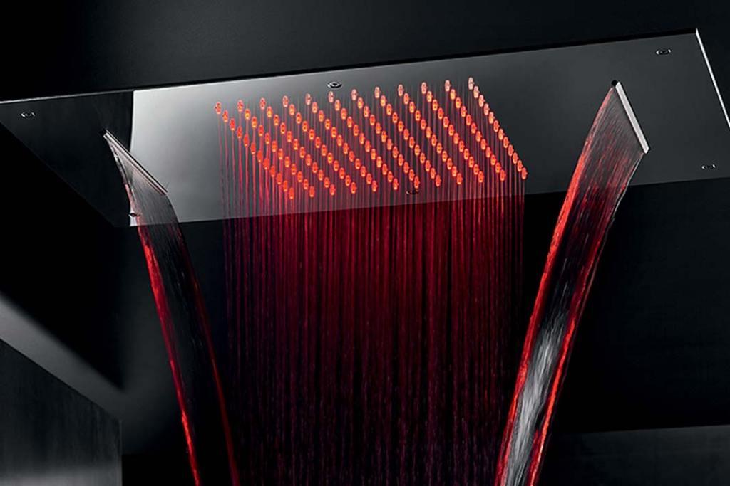 Deszczownica sufitowa Aquatec XDF 380x700 LED