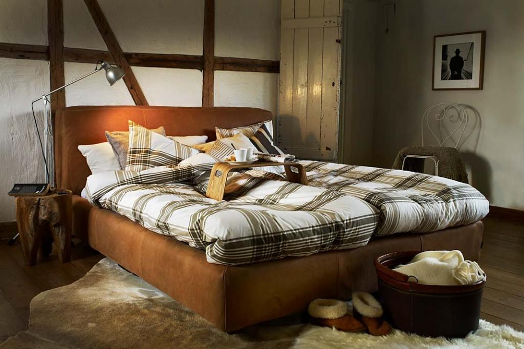 Dwuosobowe łóżko Shabby z oferty MTI Furninova