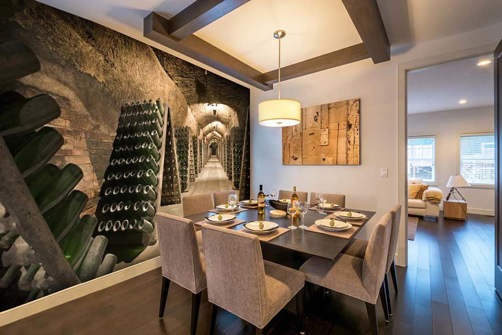 Fototapeta Epic Wine Cellar od Wallsauce