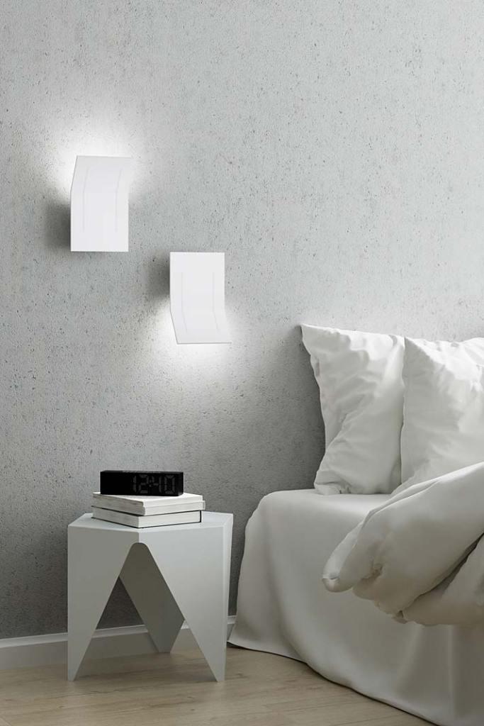 Nowoczesne lampy. Kinkiet Camber marki AQForm