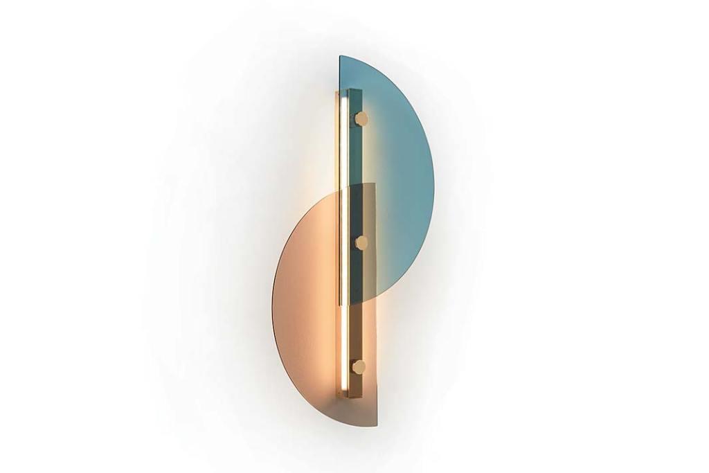 Nowoczesne lampy. Kinkiet Papillon od Arflex