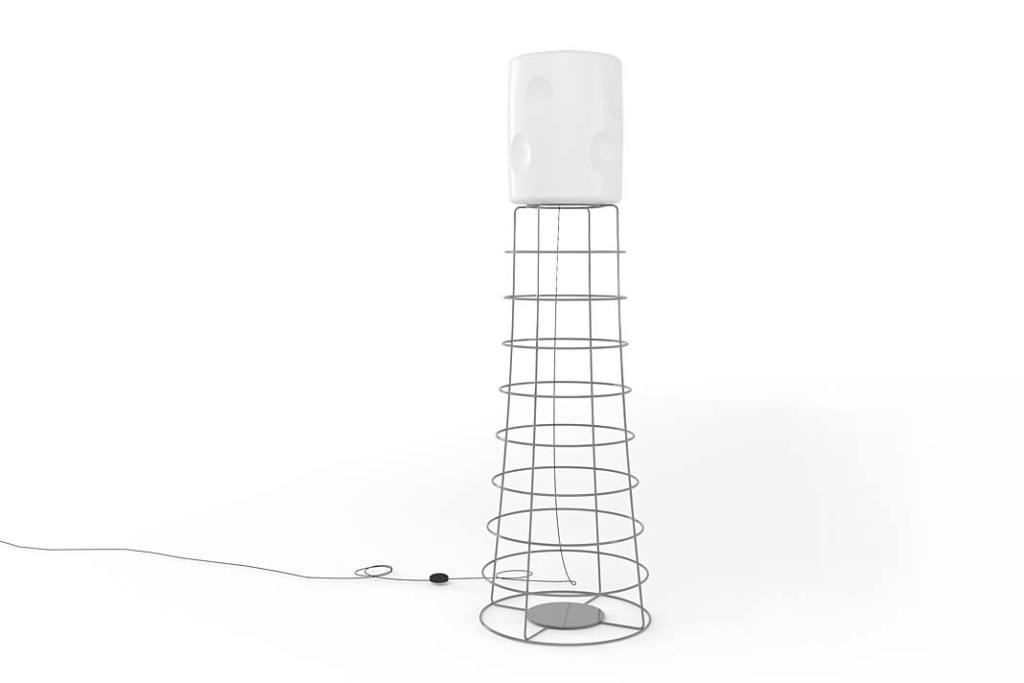 Lampa podłogowa ET marki Barel