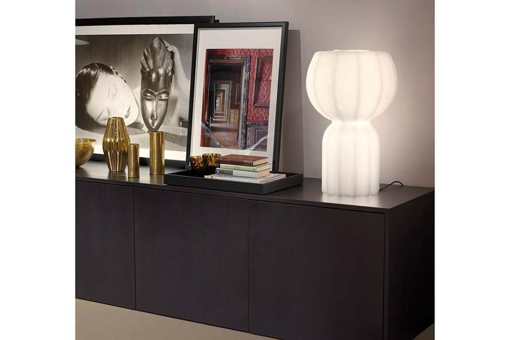 Nowoczesne lampy. Lampa stołowa Pupa marki Slide Design