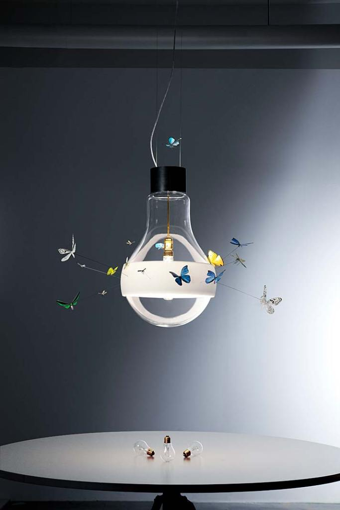 Lampa sufitowa Butterflies dreaming marki Ingo Mauer