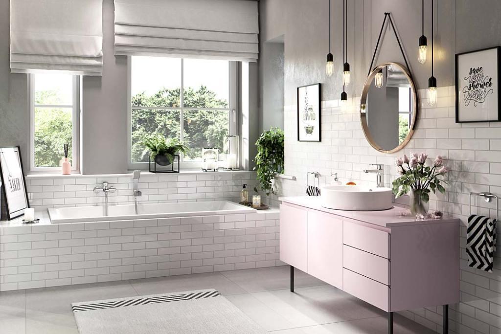 Łazienka dla rodziny, aranżacja marki Ferro