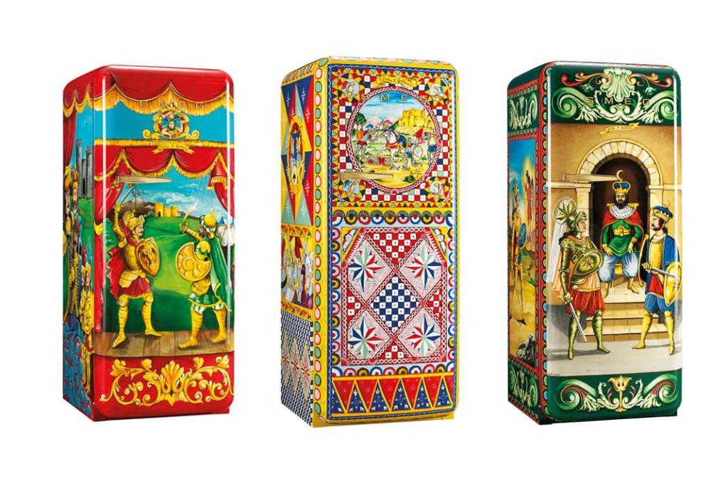 Limitowana kolekcja lodówek Smeg FAB28 stworzona we współpracy z Dolce&Gabbana