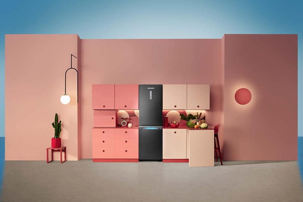 Lodówka Kitchen Fit RB41R7837B1 marki Samsung ztechnologią Cool Select+