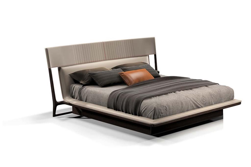 Łóżko do sypialni, model Turri marki Vine